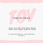 By Jingo Copywriting Tone of Voice